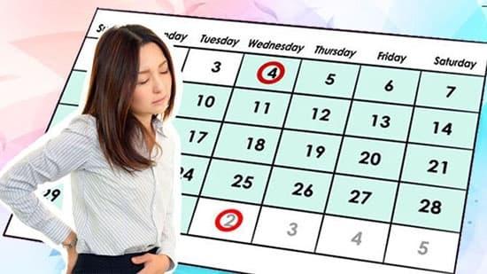 Kinh nguyệt 2 lần trong 1 tháng có phải là bệnh phụ khoa không?